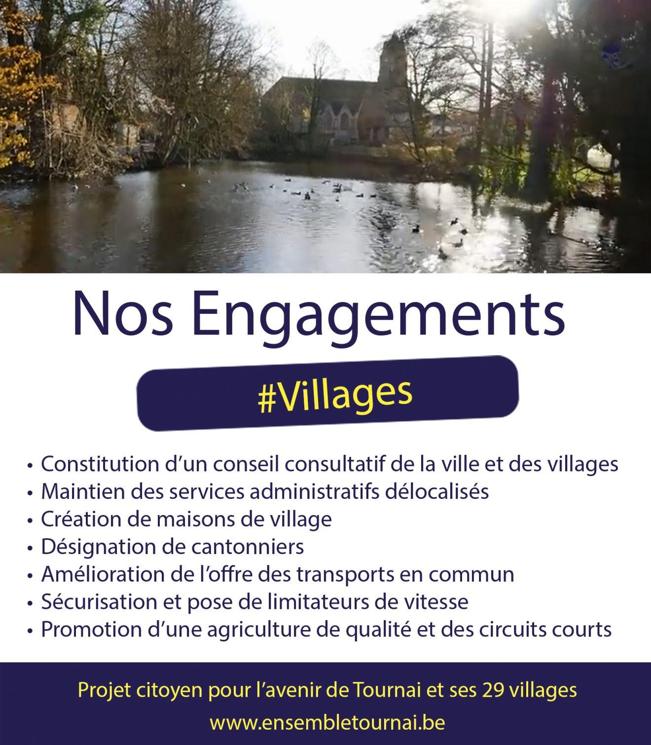 Nos 29 villages